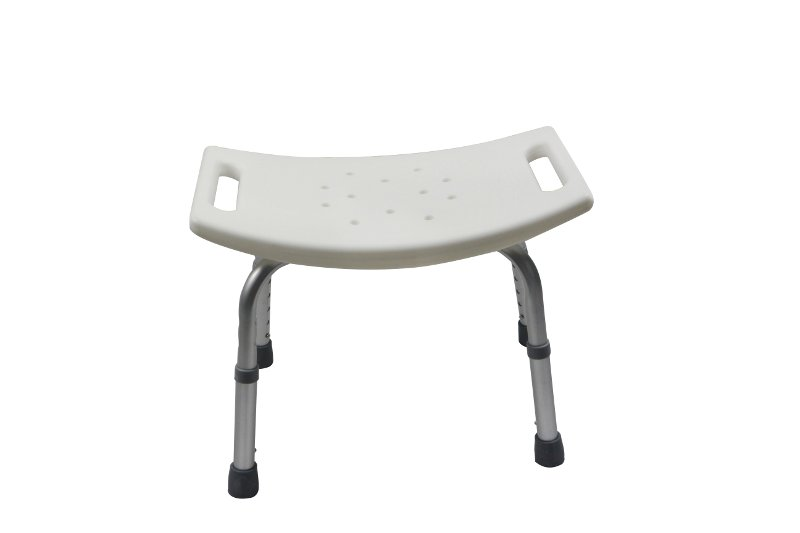 Silla de ba o con brazos y respaldo hecha de aluminio - Banqueta bano ...