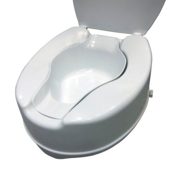 Bidet de wc para alzas para facilitar su higiene personal for Bidet para wc